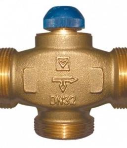Триходові термостатичі клапана ГЕРЦ CALIS