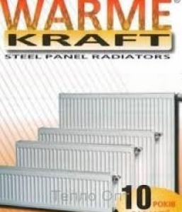 Стальні радіатори Warme-Kraft