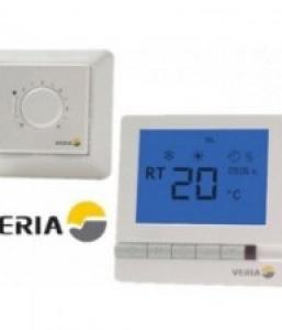 регулятори температур для електричних підлог Veria